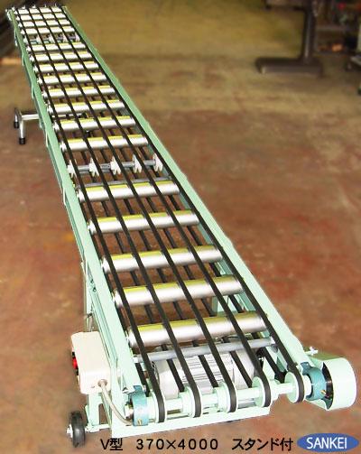 豆象コンベア(Vベルト仕様) | 搬送用コンベア | 製品紹介 | 機械製造メーカー 三恵製作所株式会社